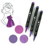 Prima - Mixed Media - Markers - Prima Palette Set - Violet