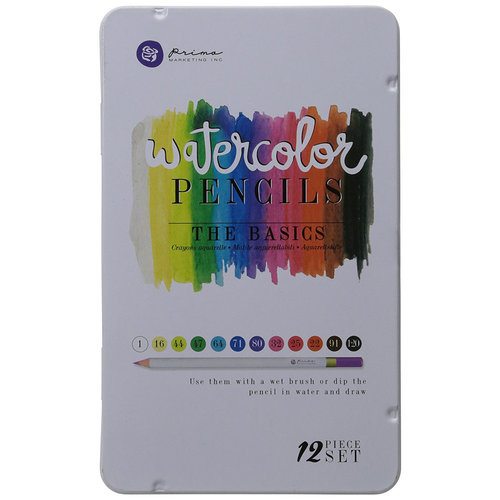 Prima - Mixed Media - Watercolor Pencils - The Basics