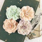 Prima - Venice Collection - Flower Embellishments - Forget Me