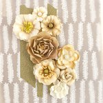 Prima - Capistrano Collection - Flower Embellishments - Gingerale