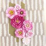Prima - Capistrano Collection - Flower Embellishments - Smoothie