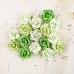Prima - Melbourne Collection - Flower Embellishments - Reef