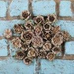 Prima - Rodanthe Collection - Flower Embellishments - Sandbank