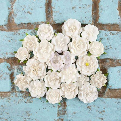 Prima - Rodanthe Collection - Flower Embellishments - Whitecap