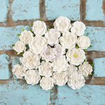 Prima - Rodanthe Collection - Flower Embellishments - Whitecap