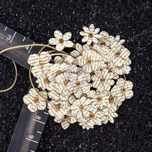 Prima - Hillsboro Collection - Flower Embellishments - Butter