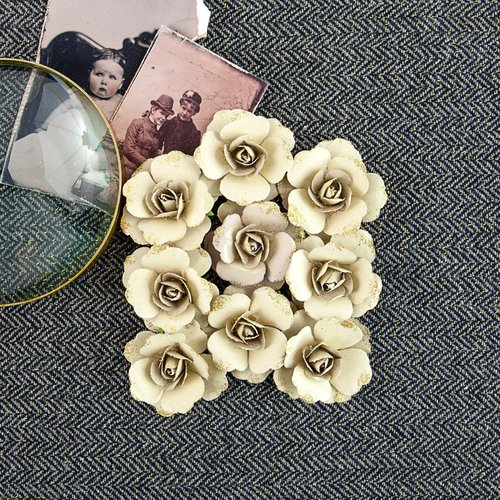 Prima - Siena Collection - Flower Embellishments - Reminisce