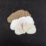 Prima - Bethany Collection - Burlap and Canvas Embellishments - Petals - Topiary