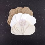 Prima - Bethany Collection - Burlap and Canvas Embellishments - Petals - Foliage