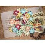 Prima - Cigar Box Secrets Collection - Flower Embellishments - Havana Nights