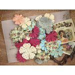 Prima - Cigar Box Secrets Collection - Flower Embellishments - Aficionado