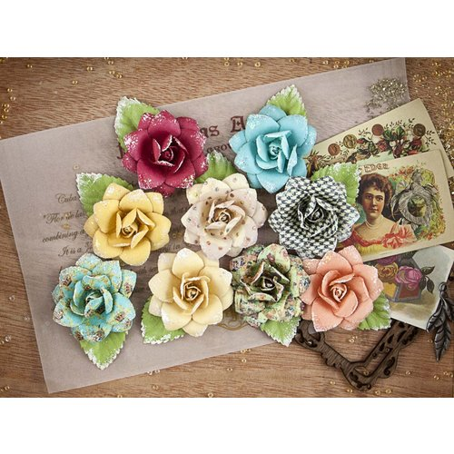 Prima - Cigar Box Secrets Collection - Flower Embellishments - Humidor