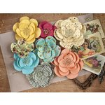 Prima - Cigar Box Secrets Collection - Flower Embellishments - Ligero