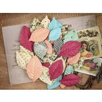 Prima - Cigar Box Secrets Collection - Leaves Embellishments - Ametista