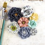 Prima - Epiphany Collection - Flower Embellishments - Bombshell