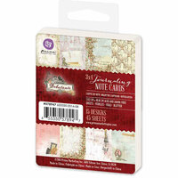 Prima - Debutante Collection - 3 x 4 Journaling Note Cards