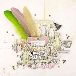 Prima - Debutante Collection - Chipboard Stickers and More
