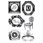 Prima - Debutante Collection - Cling Mounted Stamps