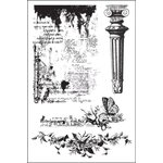 Prima - Garden Fable Collection - Cling Mounted Stamps