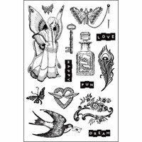 Prima - Butterfly Collection - Cling Mounted Stamps