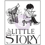 Prima - Bedtime Story Collection - Clear Acrylic Stamps - Two