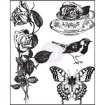 Prima - Garden Fable Collection - Clear Acrylic Stamps - Two