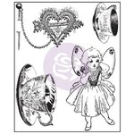 Prima - Butterfly Collection - Clear Acrylic Stamps - One