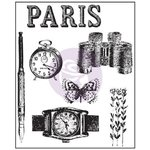 Prima - The Archivist Collection - Clear Acrylic Stamps - One