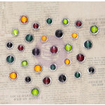 Prima - Bella Rouge Collection - Say It In Crystals - Self Adhesive Jewels