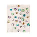 Prima - Garden Fable Collection - Say It In Crystals - Self Adhesive Jewels