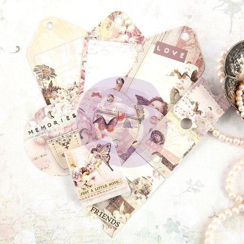 Prima - Butterfly Collection - Tag Me - Ticket and Tag Set