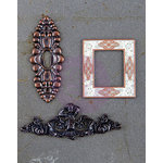 Prima - Timeless Memories Collection - Metal Trinkets - Archived