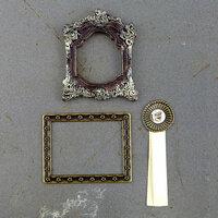 Prima - Timeless Memories Collection - Metal Trinkets - Memoir