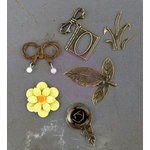 Prima - Timeless Memories Collection - Metal Trinkets - Recollection