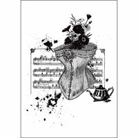 Prima - Cling Mounted Stamp - Victorian