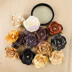 Prima - The Archivist Collection - Flower Embellishments - Ledger