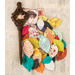 Prima - Bella Rouge Collection - Flower Embellishments - Fongr?re
