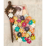 Prima - Bella Rouge Collection - Flower Embellishments - Minnette