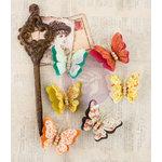 Prima - Bella Rouge Collection - Flower Embellishments - Papilio
