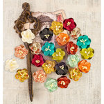 Prima - Bella Rouge Collection - Flower Embellishments - Emiline