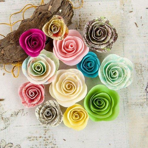 Prima - Garden Fable Collection - Flower Embellishments - Perrinial