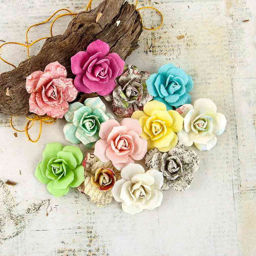 Prima - Garden Fable Collection - Flower Embellishments - Sprout