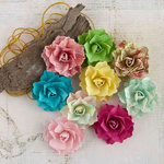 Prima - Garden Fable Collection - Flower Embellishments - Spring