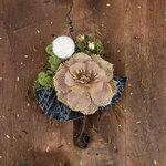Prima - Sylvan Collection - Flower Embellishments - Espen