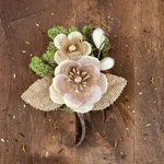 Prima - Sylvan Collection - Flower Embellishments - Bram