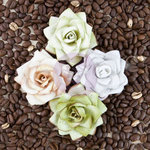 Prima - Kindled Collection - Flower Embellishments - Lush