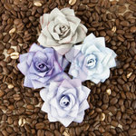 Prima - Kindled Collection - Flower Embellishments - Beryl