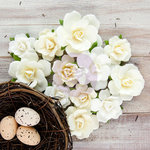 Prima - Isabella Collection - Flower Embellishments - Ricarda