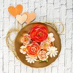 Prima - Valentina Collection - Flower Embellishments - Mona