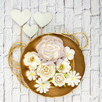 Prima - Valentina Collection - Flower Embellishments - Simona